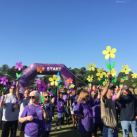 Alzheimer's Walk in Columbia was a huge success