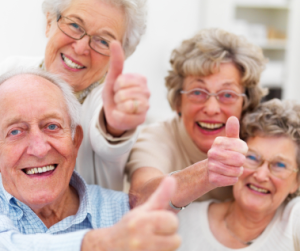 Seniors love our service so much they try to pay us to do it!  But we won't accept their money!