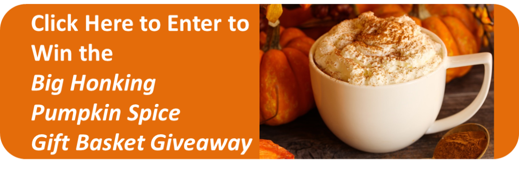 Always Best Care of the Midlands Big Honking Autumn Pumpkin Spice Gift Basket Give Away to promote our services for Assisted Living Finder Service, Referral Service, In Home Care & Senior Care.